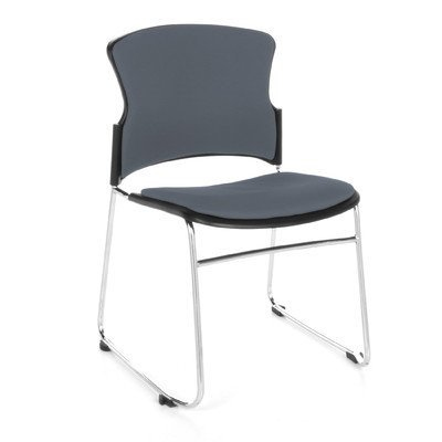 Ofm Multi Use Armless Stacking Chair